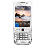 BlackBerry-Torch-9800-White