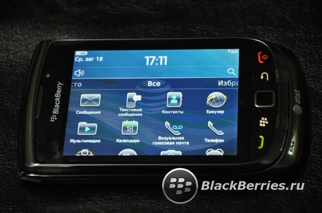 BlackBerry 9800 Torch!