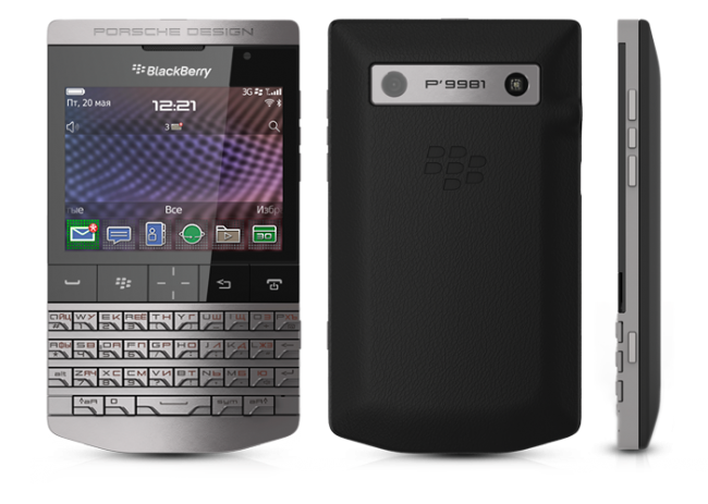 купить Porsche Design BlackBerry P'9981