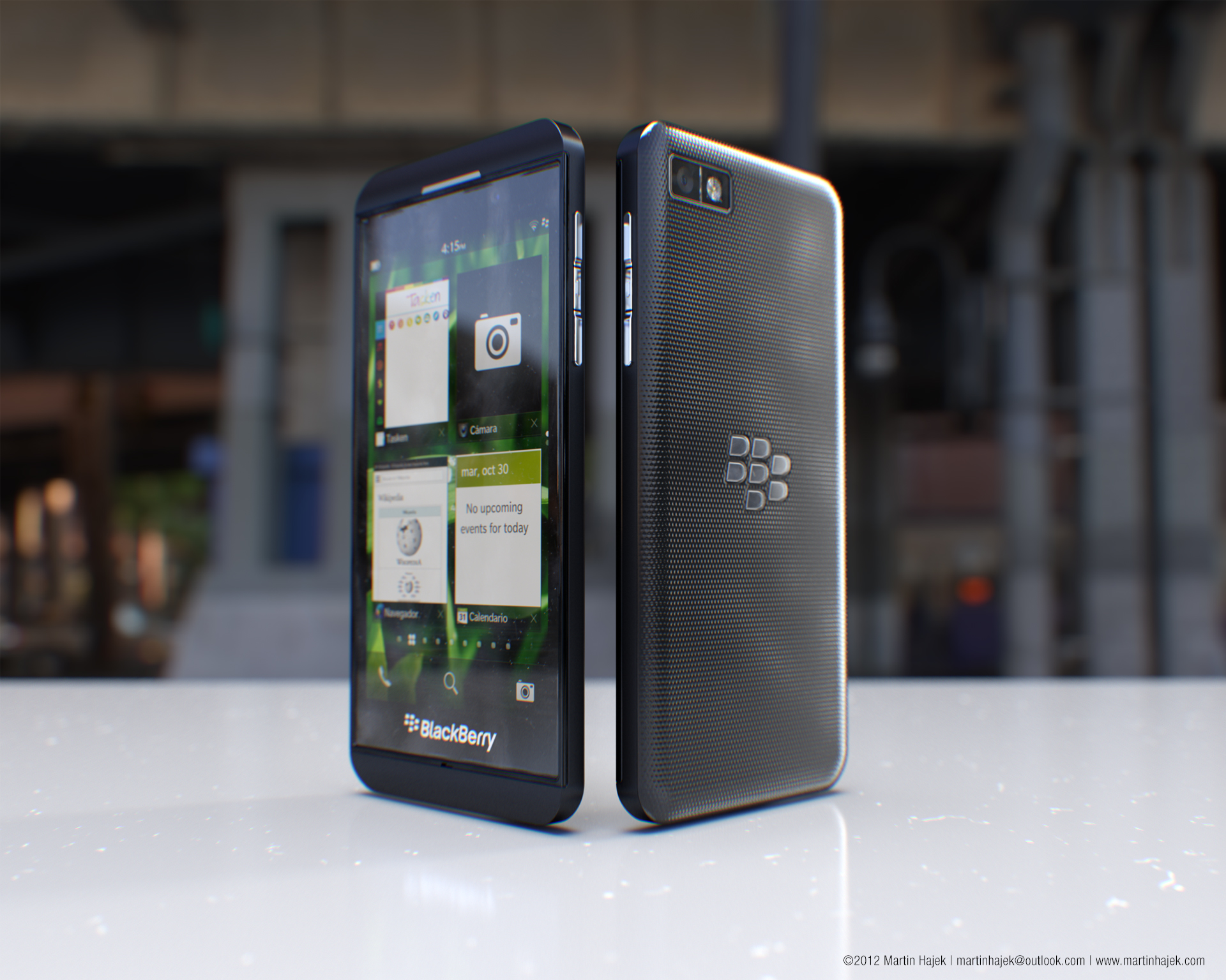 3d модели blackberry 10 l series