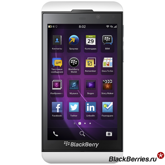 BlackBerry Z10 White 4G LTE купить