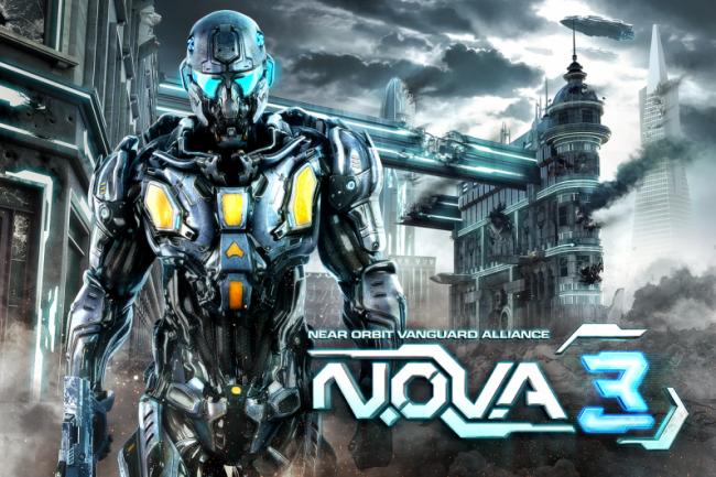 NOVA3 Start Screen
