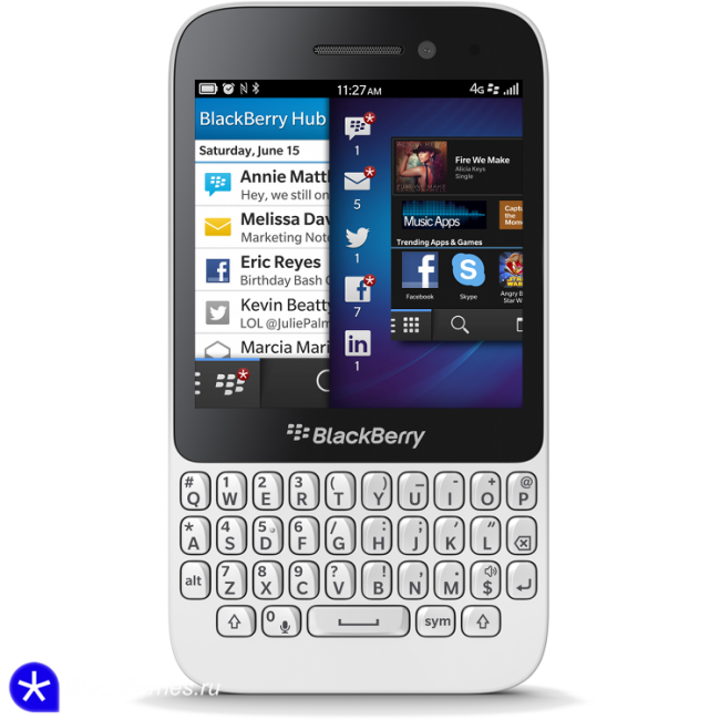BlackBerry Q5 White купить