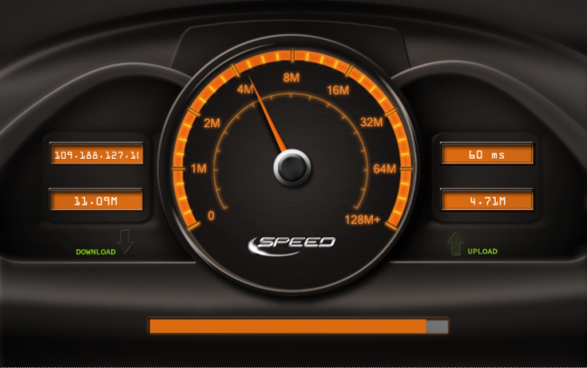 speedtest-yota