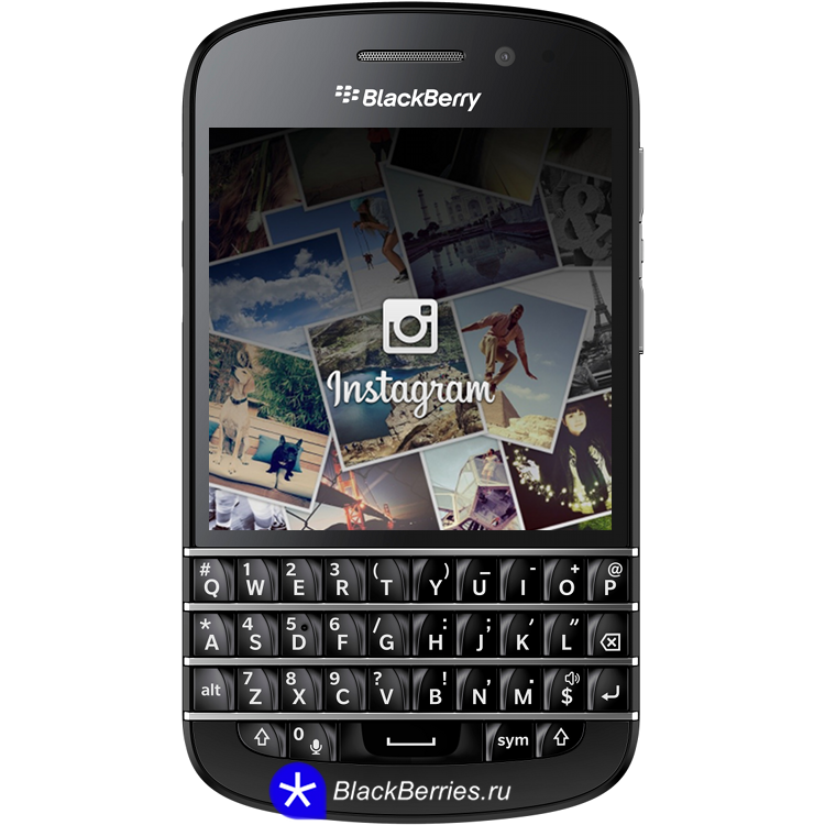 how to add intagram to blackberry