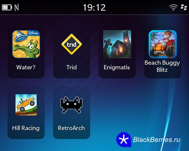 Лучшие игры для BlackBerry Z10