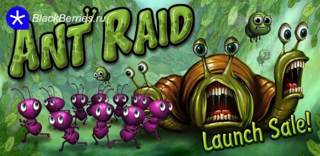 Ant Raid для BlackBerry 10