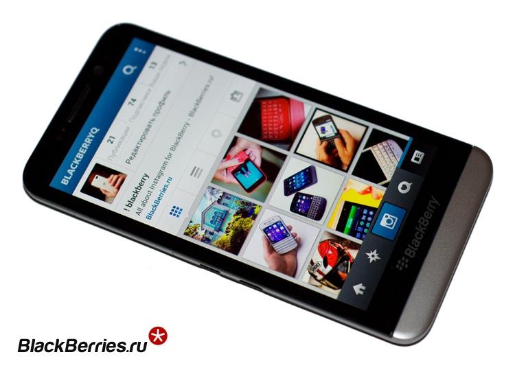 BlackBerry-Z30-instagram