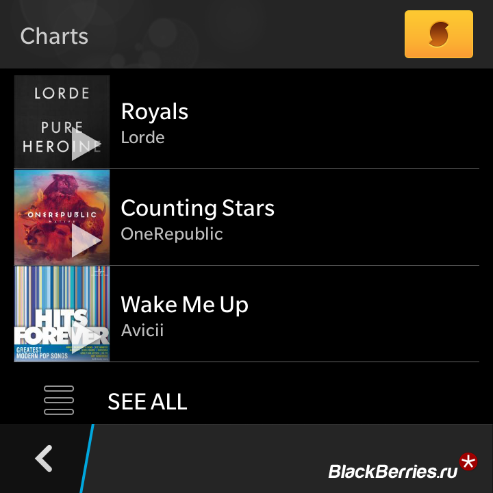 BlackBerry-Q10-SoundHound-4