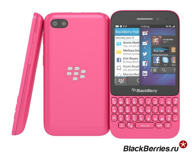 BlackBerry-Q5-pink