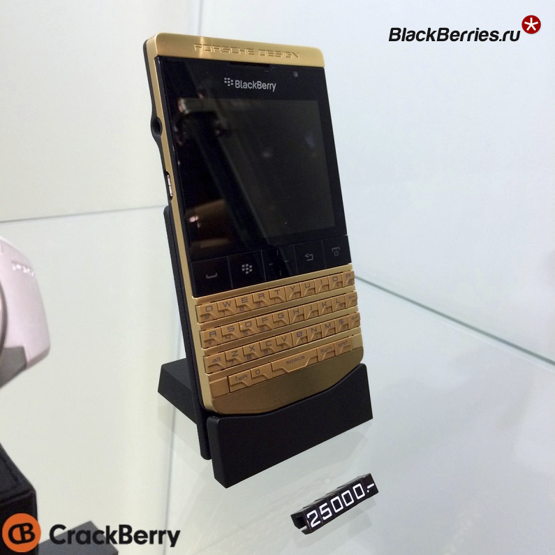 form blackberry porsche design p 9981 gold week old female
