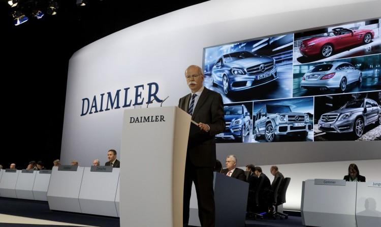 Daimler AG, Hauptversammlung, April 10, 2013