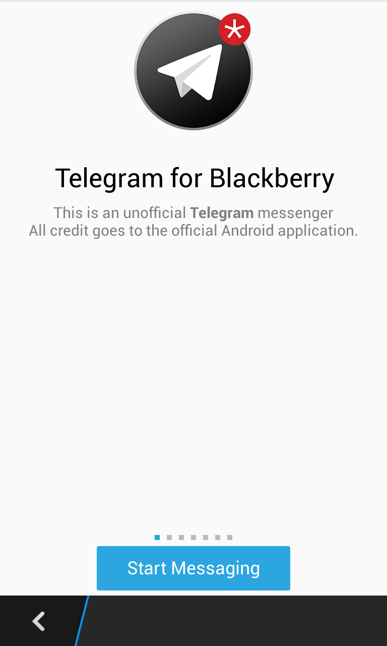 Порт telegram для blackberry 10 появился в blackberry