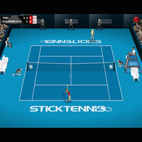 Stick-Tennis
