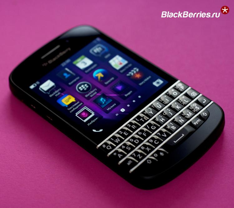 BlackBerry Q10 SQN100-3 4G LTE с русской клавиатурой: 17990