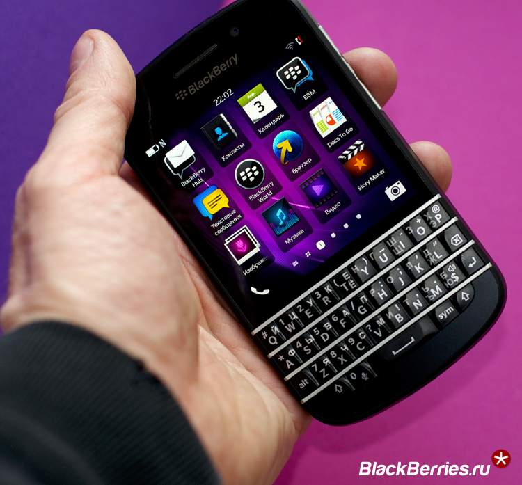 BlackBerry-Q10-Русский-язык