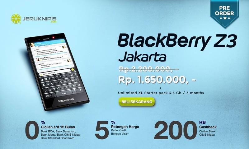 BlackBerry_Z3_preorders