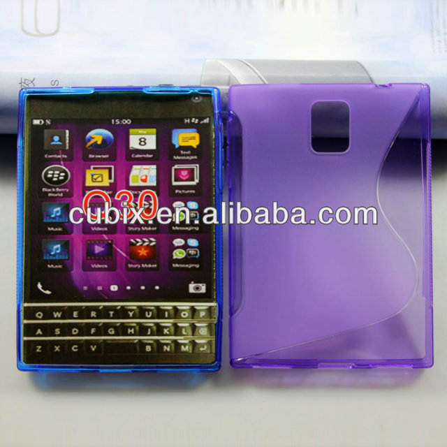Free-Shipping20pcs-For-Blackberry-Q30-Case-TPU-soft-GEL-Skin-Case-cover-for-Blackberry-Q30-mobile