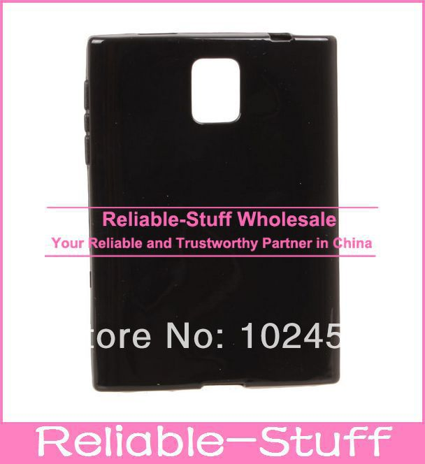 Glossy-Jelly-Candy-Silicone-Rubber-TPU-Gel-Case-Back-Skin-Cover-Shell-for-BlackBerry-Q30-300pcs
