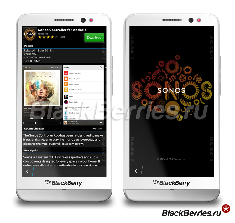 BlackBerry-Z10-Sonos