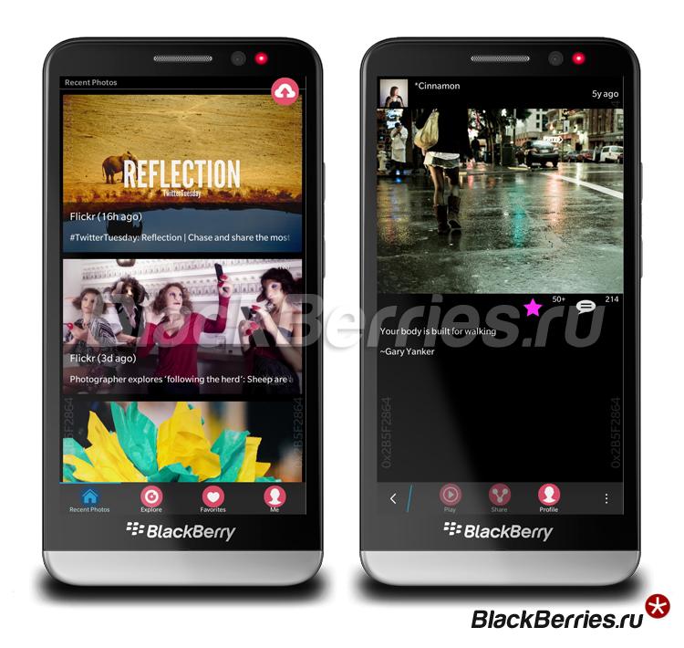 BlackBerry-Flickr-Flowr