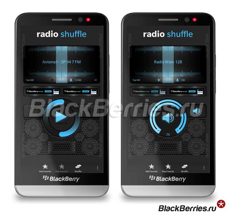 BlackBerry-Z30-Radio-Shuffle