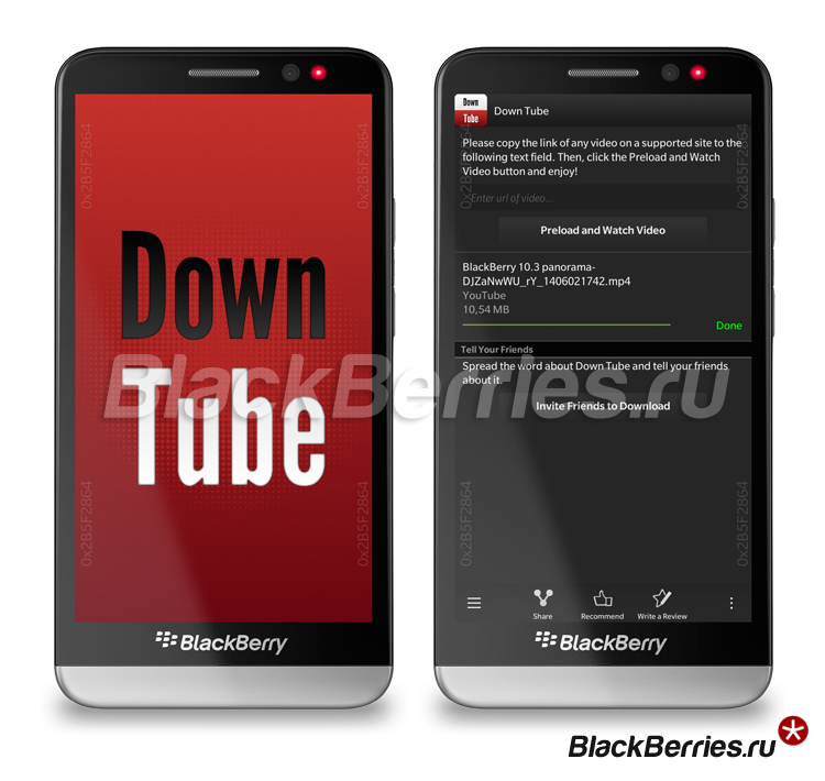 BlackBerry-Z30-DownTube