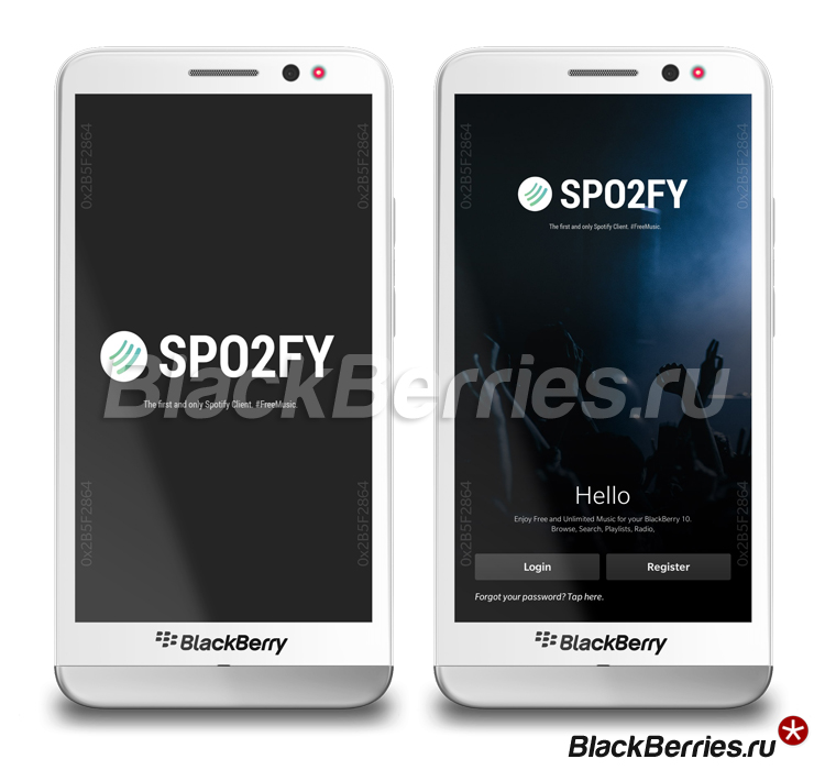 BlackBerry-Z30-spotify