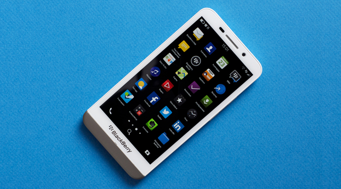 Утечка BlackBerry OS 10.3.0.1052 без PIN на экране и с Amazon Appstore