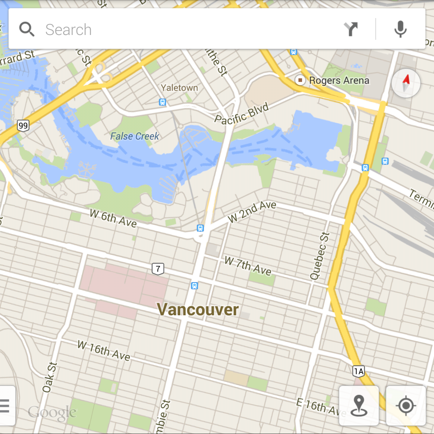 BlackBerry-Passport-Google-Map