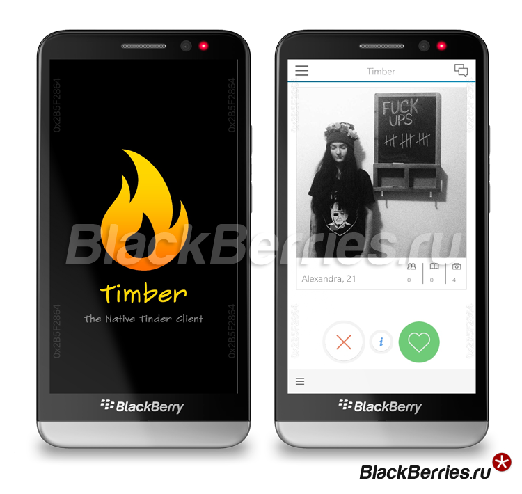 BlackBerry-Z30-Timber