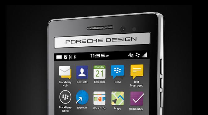 Полные спецификации BlackBerry P'9983 Porsche Design