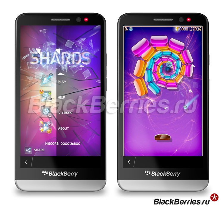 BlackBerry-Z30-shards