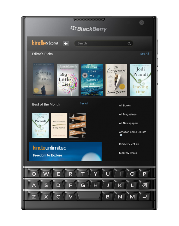 blackberry amazon app