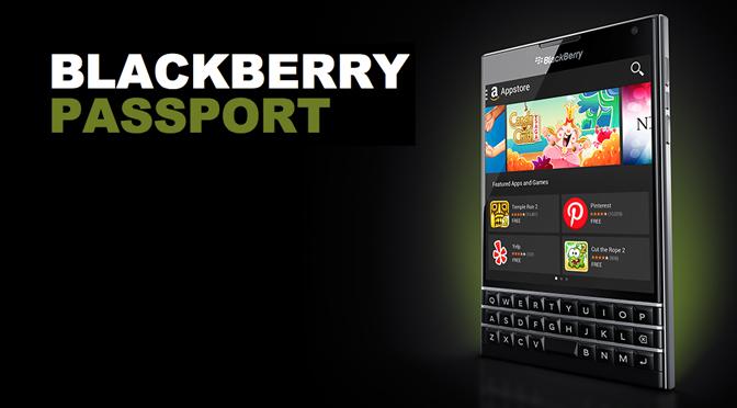 BlackBerry Passport в продаже в Москве!