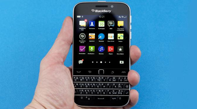 BlackBerry Classic в наличии в нашем интернет магазине!