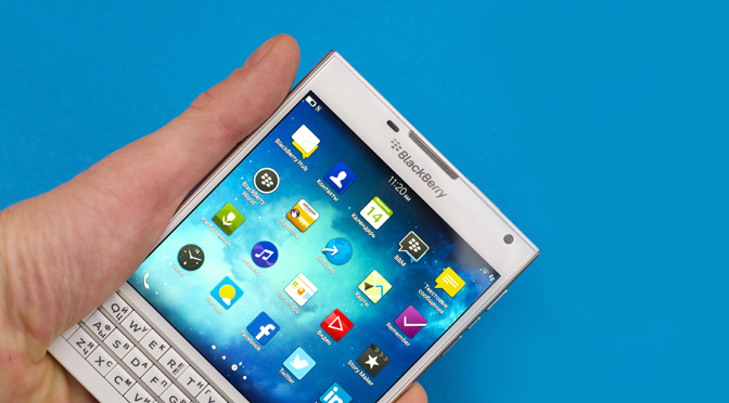 BlackBerry Passport White в наличии в нашем интернет магазине