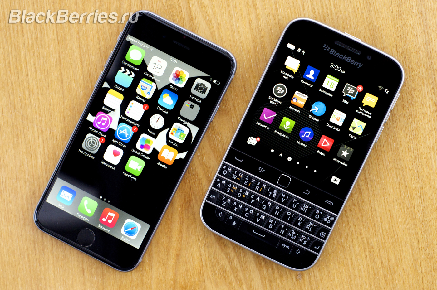 BlackBerry-Classic-vs-iPhone-Q10-Passport-36