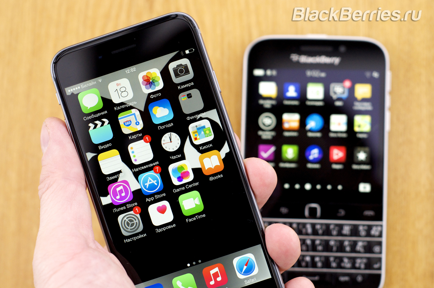 BlackBerry-Classic-vs-iPhone-Q10-Passport-41
