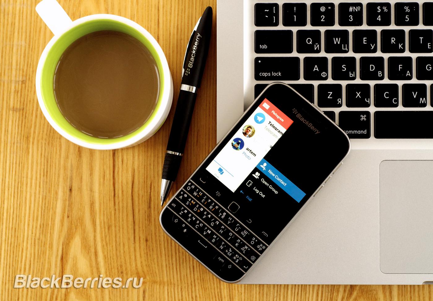 Pintagram BlackBerry Classic