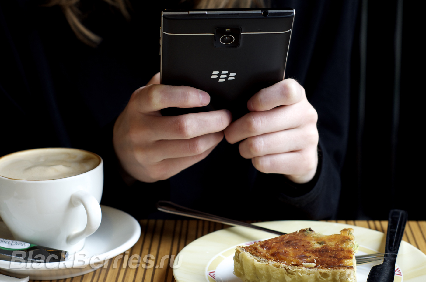 BlackBerry Passport Girl