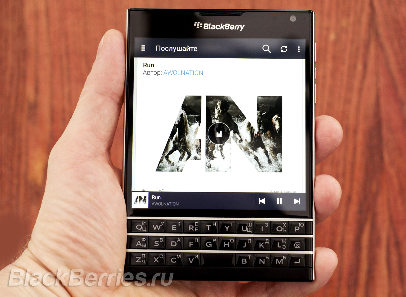 BlackBerry-Passport-Deezzer