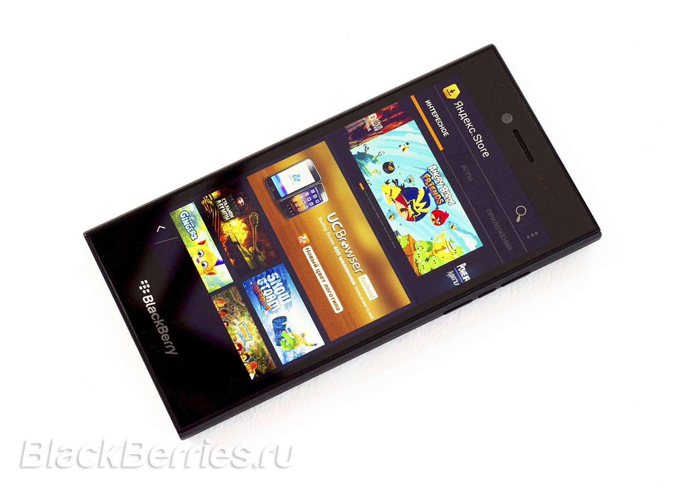 Обзор BlackBerry Leap | BlackBerry в России