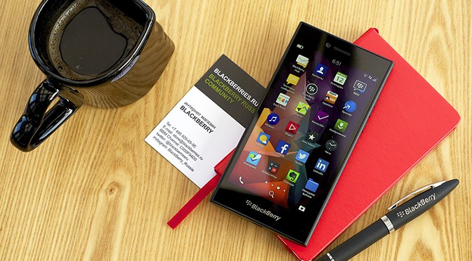 Обзор нового смартфона BlackBerry Leap