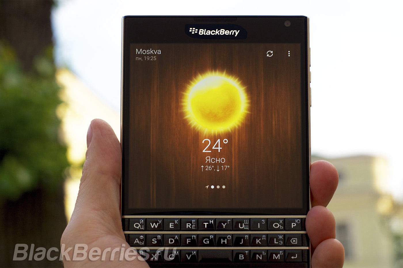 BlackBerry-Weather
