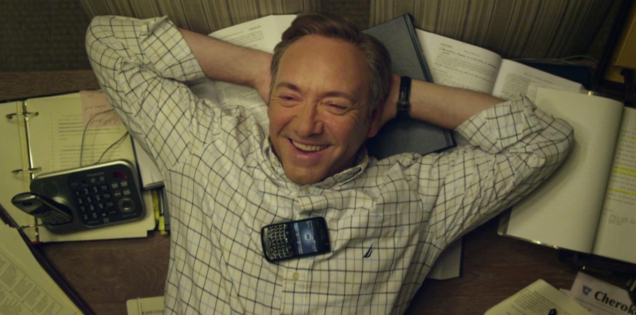 """Благодаря сериалу """"Карточный домик"""" рингтон BlackBerry стал одним из самых популярных среди владельцев iPhone."""