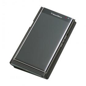 BlackBerry-Leather-Smart-Flip-Case-(Black)-5