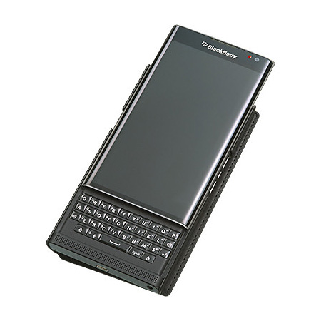 BlackBerry-Leather-Smart-Flip-Case-(Black)-6
