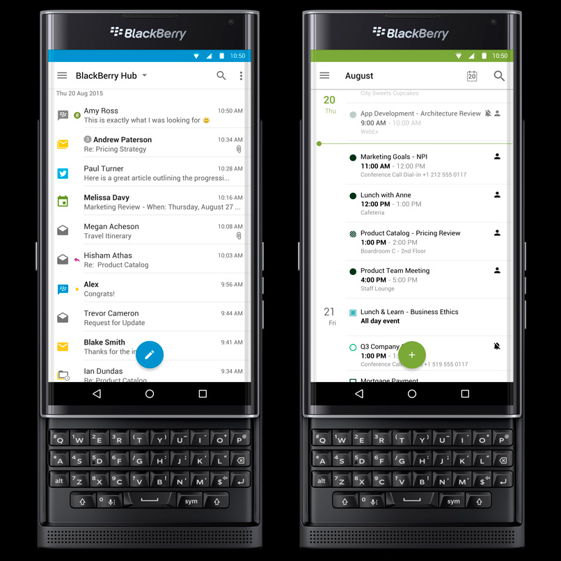 BlackBerry-Priv-BlackBerry-Hub
