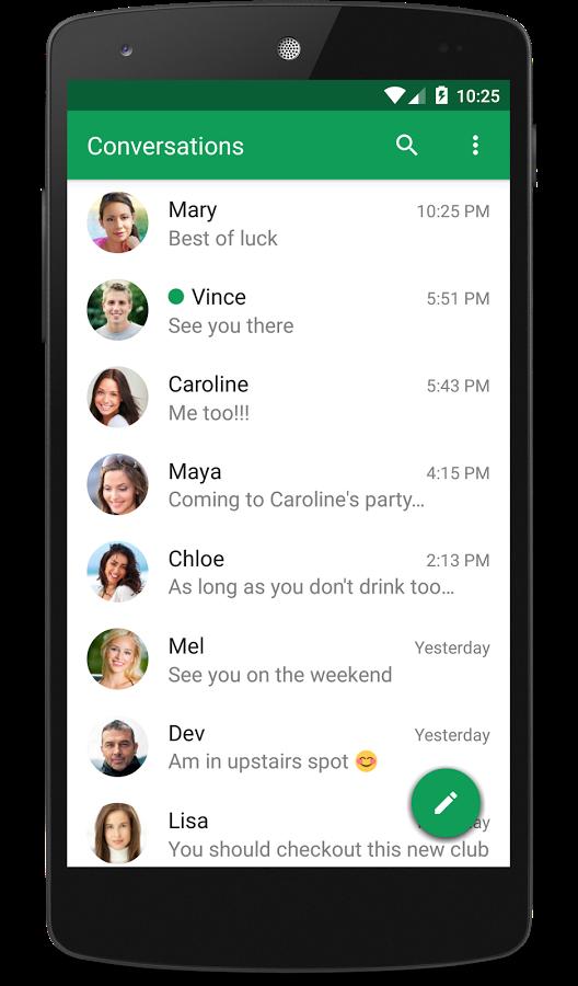 скачать приложение для сообщений на андроид - фото 8